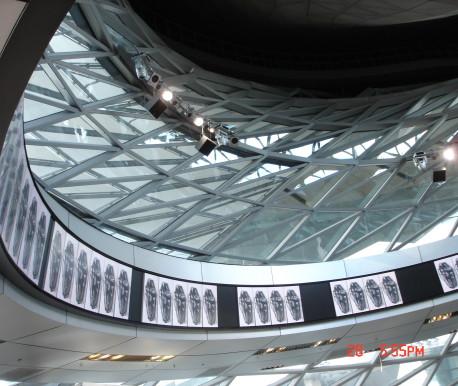 BMW Welt Treppenverkleidung